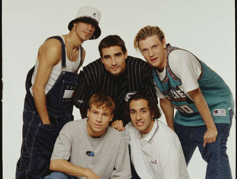 Wore lots of Tommy Hilfger.   (Backstreet Boys, 1996).