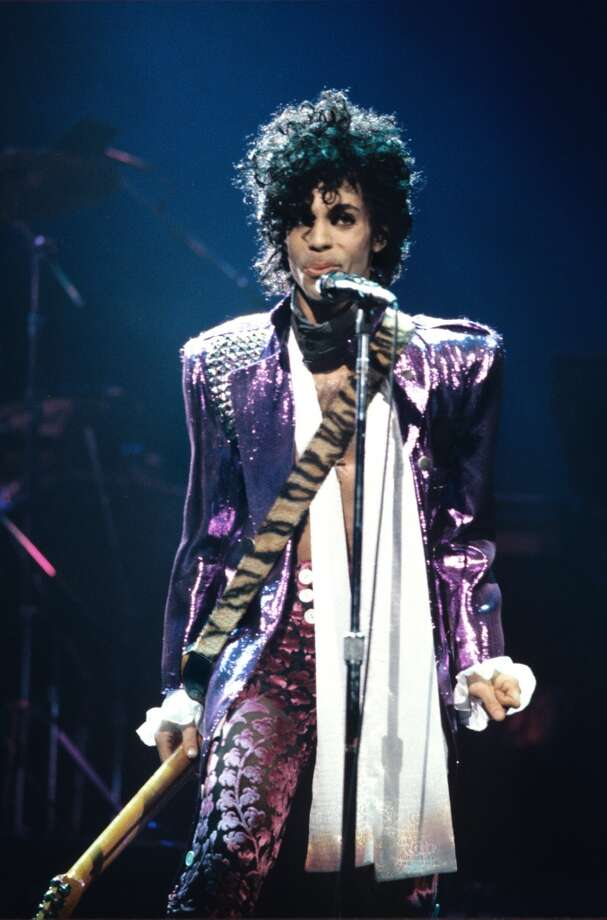 Ever did the ''Jungle Love'' dance from ''Purple Rain.''  (Photo: Prince, 1984. Song was by Morris Day and the Time).