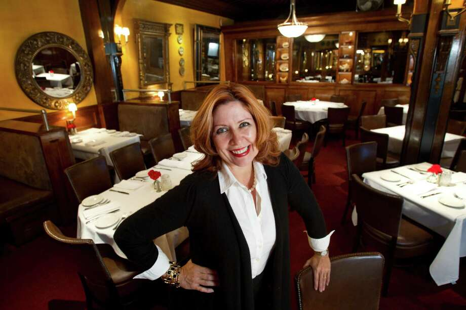 """Cinda Palacios said that her restaurant, Armandos, has seen costs drop 5 percent since joining the Houston Dining Alliance. """"Even if I have a problem, our rep takes care of it. It's like having an in-house CFO looking at my purchase orders."""" Photo: Brett Coomer, Staff / © 2013 Houston Chronicle"""