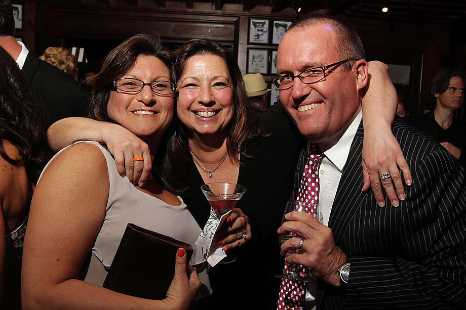 "Were you Seen at ""Lights, Camera, Action"" hosted by Leukemia & Lymphoma Society Man of the Year Candidate Chad Perkins at Siros Trattoria at the Lodge in Saratoga Springs on Friday, April 26, 2013? Photo: Joe Putrock/Special To The Times Union"