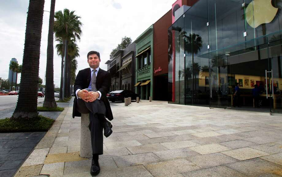 """Haidar Barbouti, owner of Highland Village for 23 years, says """"we don't do anything cookie-cutter"""" in the high-end Houston shopping center. Photo: Cody Duty, Staff / © 2013 Houston Chronicle"""