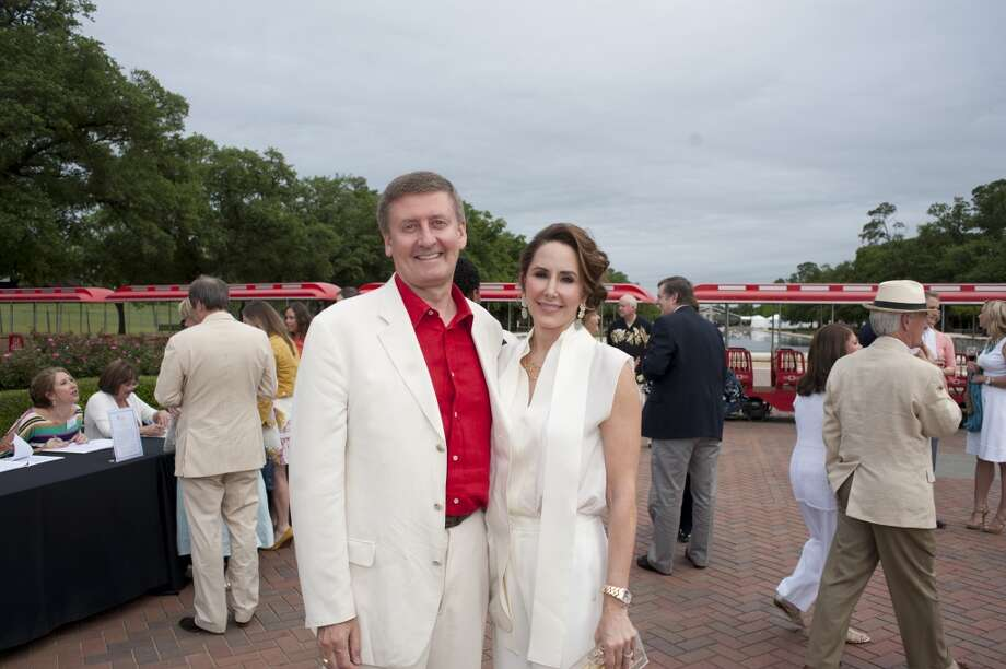 Tom and Liz Glanville