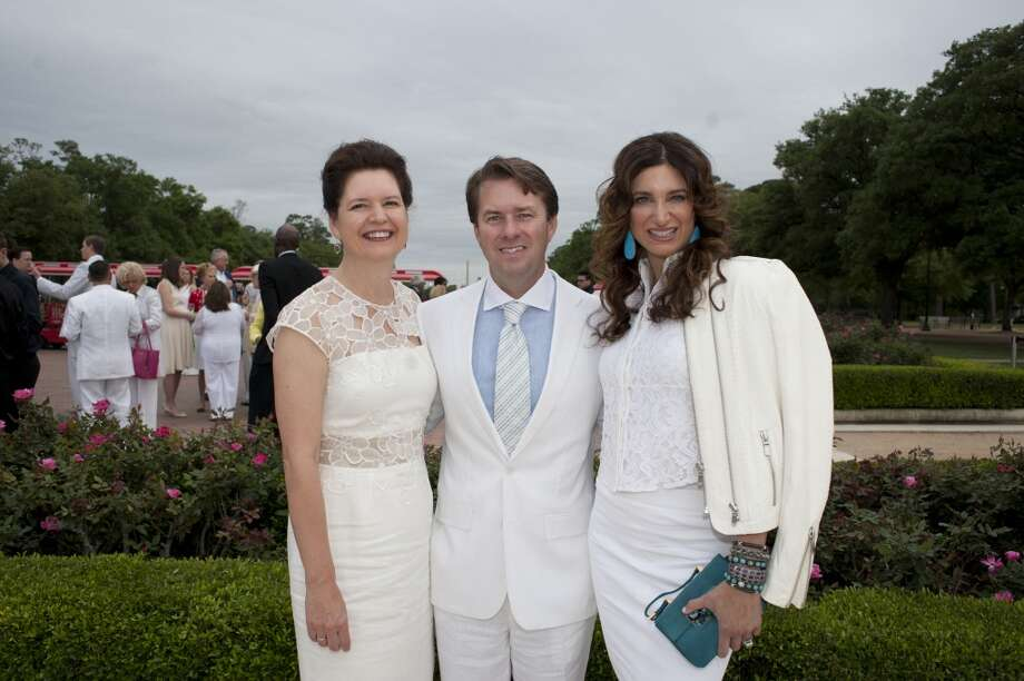 Doreen Stoller, left, with Michael and Melissa Mithoff