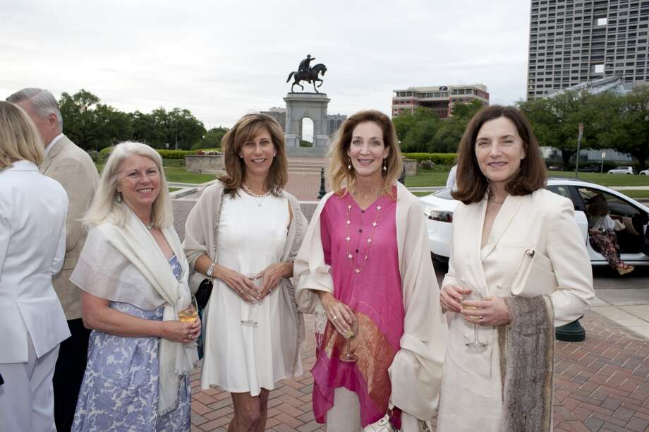 Janet Clark, left, Valerie Banner, Florence Langford and Annell Bay
