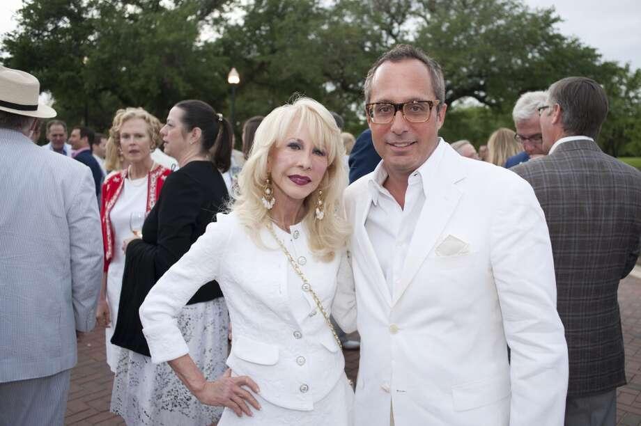 Diane Furbst Lokey and Mark Sullivan