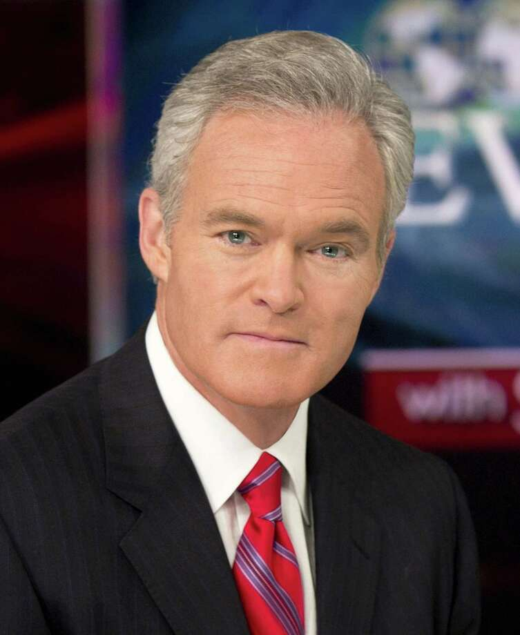 "Scott Pelley, the anchor and managing editor of CBS Evening News and ""60 Minutes"" correspondent, spoke at the Darien League of Women Voters brunch Sunday, April 21. Photo: Contributed"