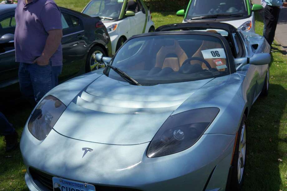 Were you SEEN at the first ever rally of the Westport Electric Car Club? Blu Parrot--Saugatuck 4/27/2013 Photo: Todd Tracy/ Hearst Connecticut Media Group