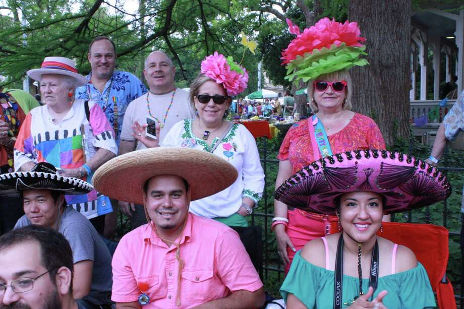 People enjoy the family-oriented festival held on the final Saturday of Fiesta each year since 1967. Photo: Julie Ruff, MySA.com/ SA