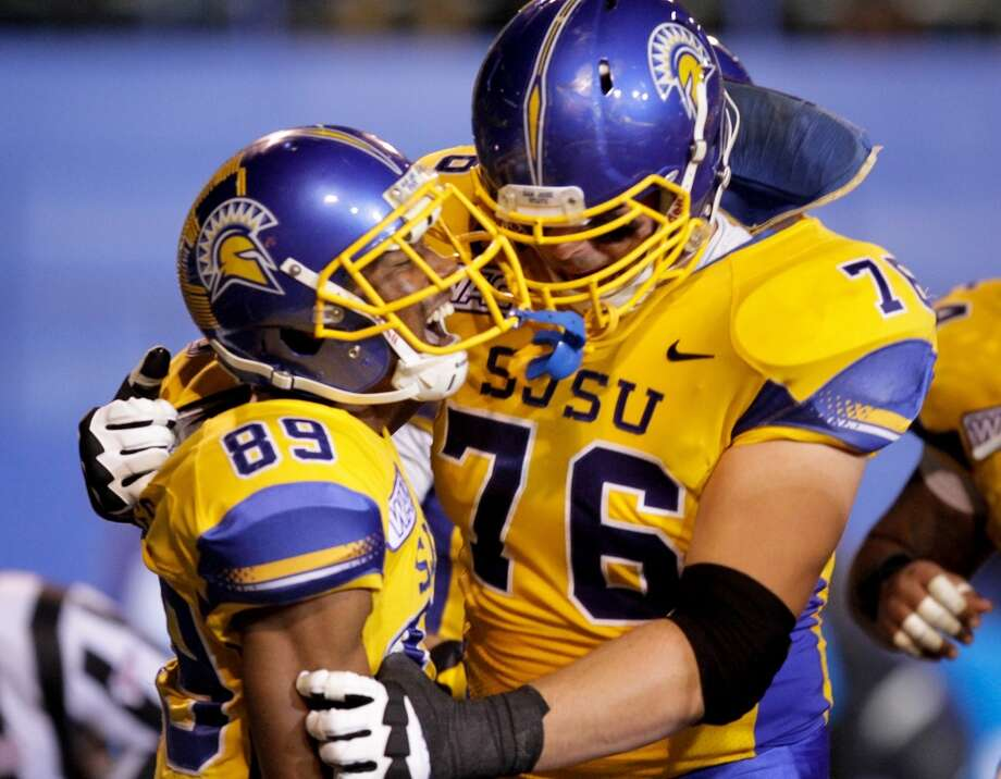 6th roundWith the No. 176 pick (sixth round) in the draft, the Texans selected offensive tackle David Quessenberry from San Jose State. Photo: John Storey, Associated Press