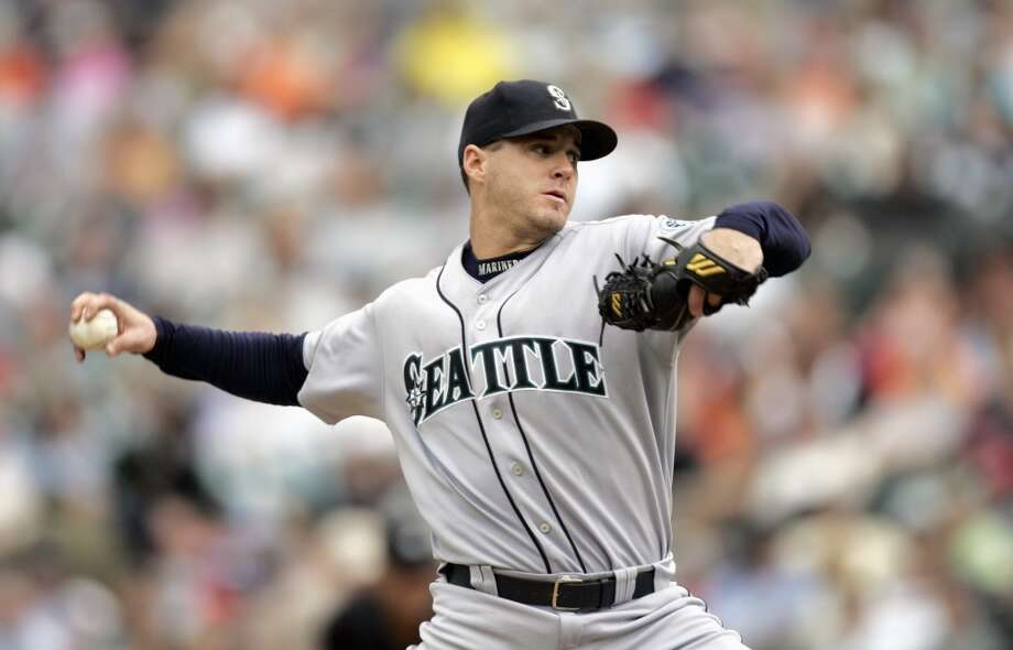 9. Gil Meche -- 55 winsMariners record: 55-44 | Career record: 84-83 | Seasons in Seattle: 1999-2006  Meche was never the most lights-out pitcher Seattle has seen, with a cumulative 4.65 ERA over six years with the M's, but he finished his time in Seattle with a winning record. He missed all of the 2001 season with a rotator cuff injury, yet returned for four more years with the M's and four afterward with the Kansas City Royals. He retired after 2010.