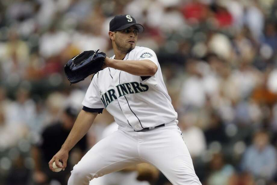 7. Joel Pineiro -- 58 wins Mariners record: 58-55 | Career record: 104-93 | Seasons in Seattle: 2000-06  Pineiro was 6-2 with a 2.03 ERA in 2001, when the M's won 116 games, and continued his dominant pitching until 2004, when the team turned bad and his ERA started creeping up. After going 8-13 with a 6.36 ERA in 2006, Pineiro went on to pitch six more years in the majors and retired after 2011.