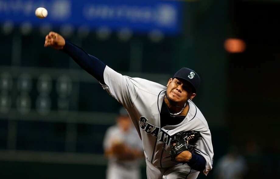 3. Felix Hernandez -- 100 winsMariners record: 100-78 | Career record: 100-78 | Seasons in Seattle: 2005-present  That's 100 wins as of April 22. ''King Felix'' is, of course, the only Mariners pitcher with a perfect game and continues to be one of the best pitchers in baseball. A three-time All-Star so far, Hernandez led the league with 19 wins in 2009, won the A.L. Cy Young in 2010 and signed a $175 million contract extension with Seattle during the 2013 offseason. He does also have the third-most losses in M's history with 78, but could the 27-year-old make it to 200 wins? We'll see.