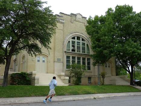 The Prospect Hill Missionary Baptist Church, now an apartment complex, is located on the West Side. It is the only remaining example of a church built in Beaux Arts style in the city, according to the Texas Historical Commission. Photo: Billy Calzada, San Antonio Express-News / San Antonio Express-News