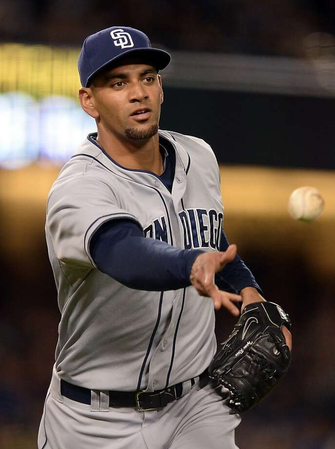 Tyson Ross' chance to hit became a chance to get hurt. Photo: Harry How, Getty Images