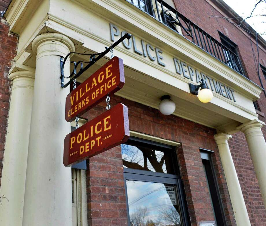 Entrance to the Scotia police station Wednesday Feb. 20, 2013.  (John Carl D'Annibale / Times Union) Photo: John Carl D'Annibale / 00021249A