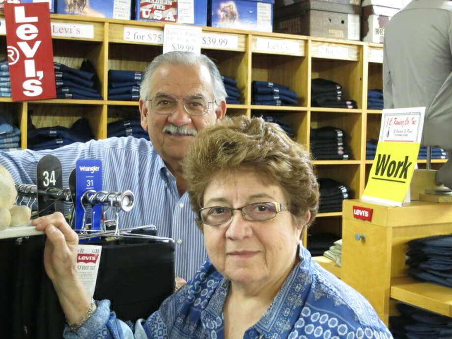 Noel and Cecilia Benavides, who own Roma's J.C. Ramirez Store, are descendants of early Roma families.   (Joe Holley / Houston Chronicle) Photo: Joe Holley, Staff / © 2013 Houston Chronicle
