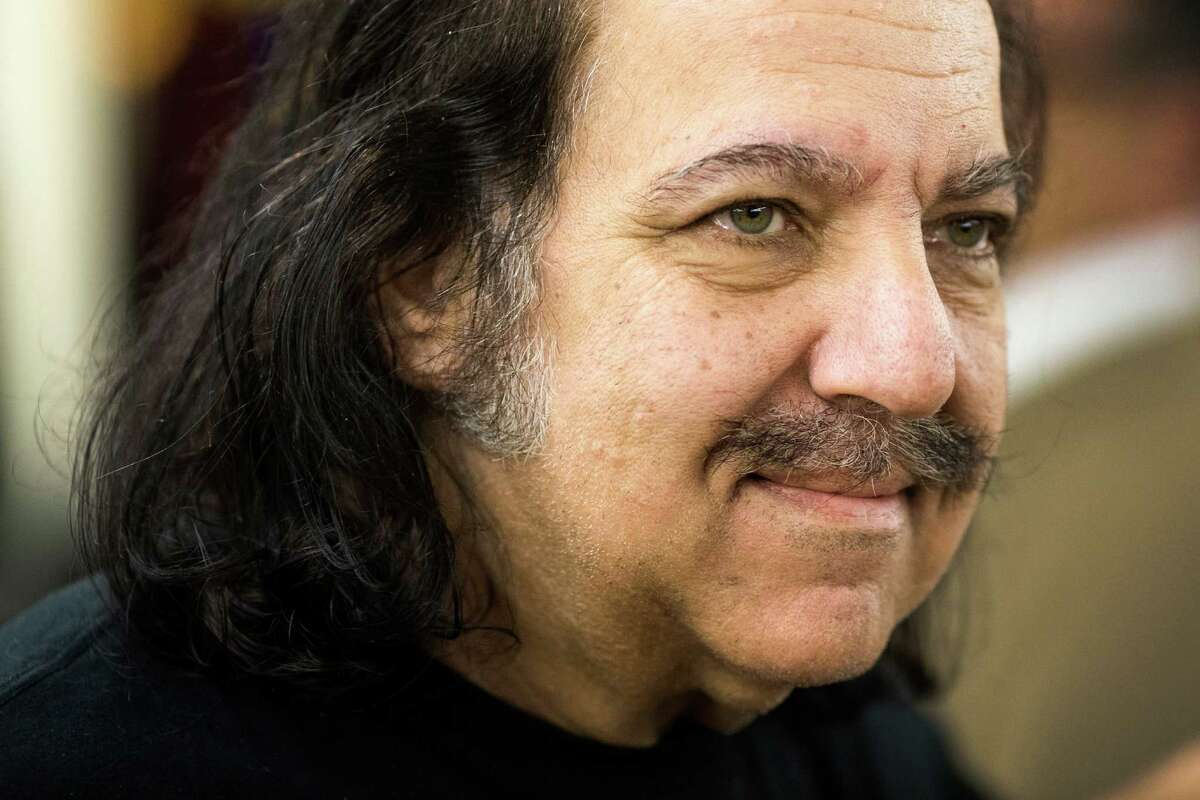 Ron Jeremy makes a public appearance to sign and promote his new rum, Ron De Jeremy, on Saturday, April 27, 2013, at Wine World in Seattle.