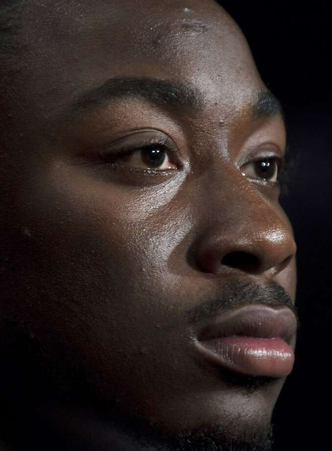 Marcus Lattimore tore three major knee ligaments in October. Photo: Dave Martin, Associated Press