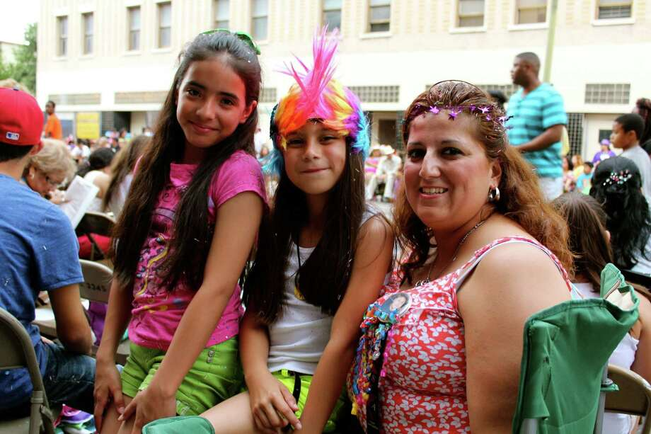 The annual Fiesta Flambeau Parade on Saturday, April 27, 2013, in downtown San Antonio. Photo: Yvonne Zamora