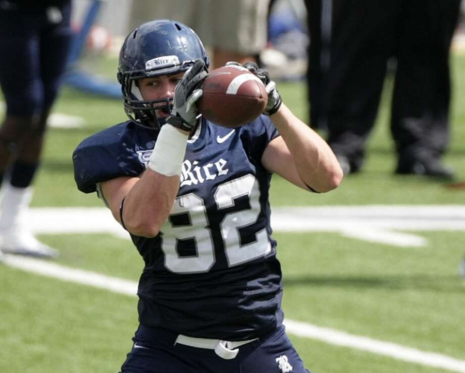 Round 5: Luke Willson, tight end Fifth round, 25th pick | 158th pick overall | College: Rice  Read more: Wilson to Willson? Seahawks choose TE Luke Willson in NFL Draft's fifth round  Photo: Nick De La Torre / © 2011  Houston Chronicle