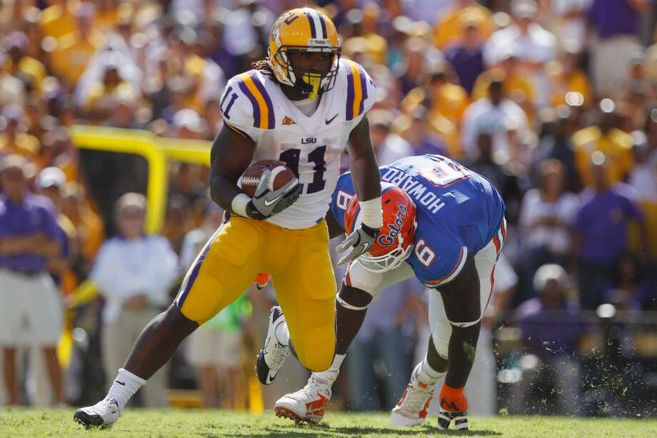 Round 6: Spencer Ware, running back Sixth round, 26th pick | 194th pick overall | College: LSU  Read more: Seahawks take another running back in NFL Draft: Spencer Ware of LSU