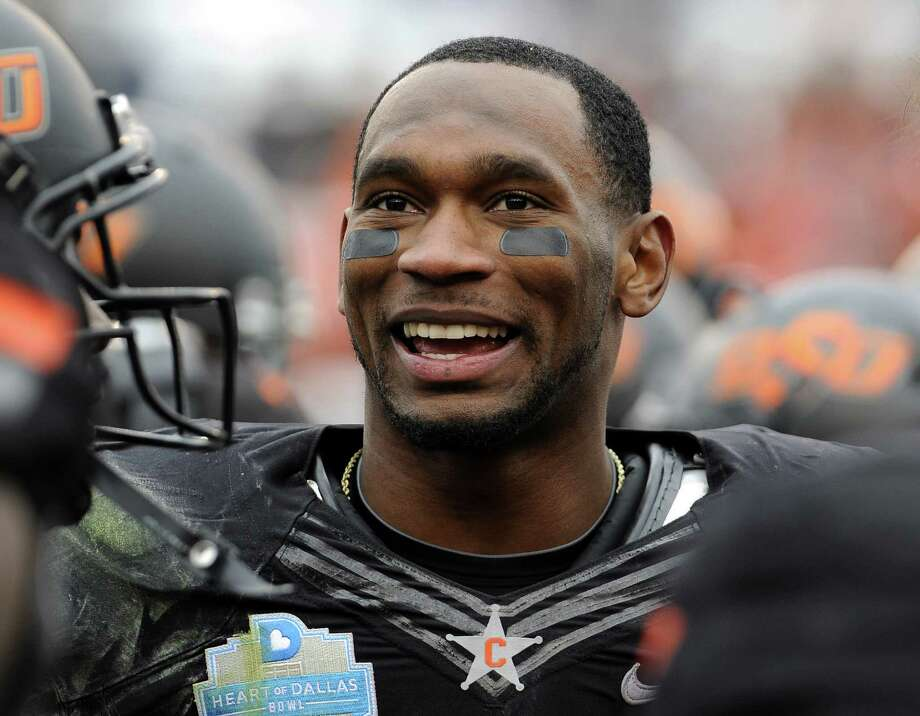 Oklahoma State's Joseph Randle led the Big 12 with 1,417 yards rushing in 2012.