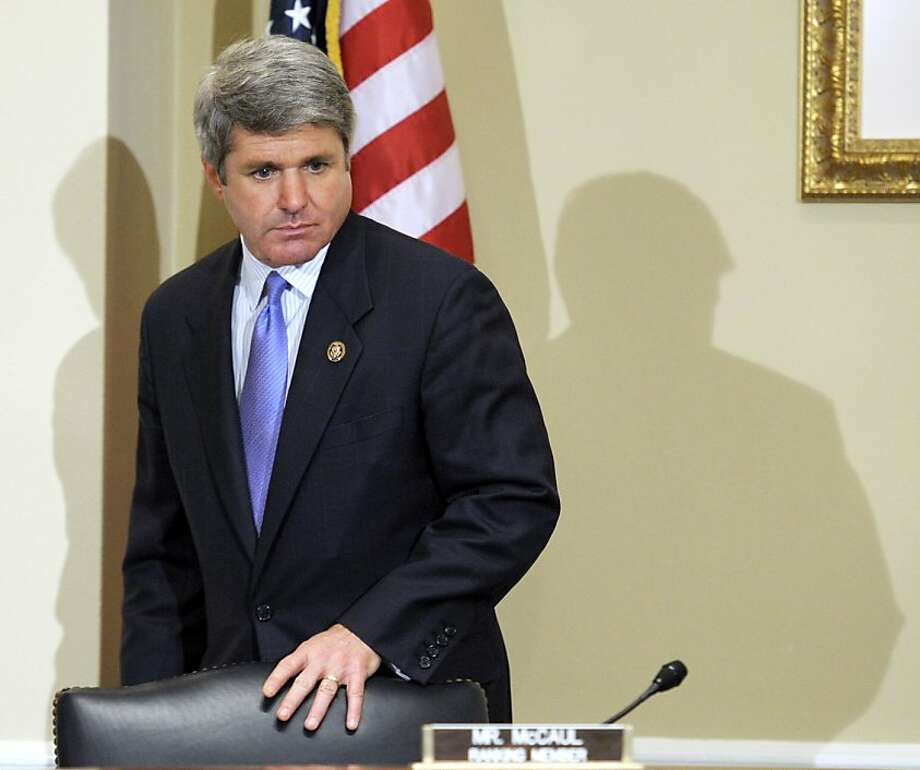Rep. Michael McCaul, R-Texas, says the FBI casts a wide net. Photo: Cliff Owen, Associated Press