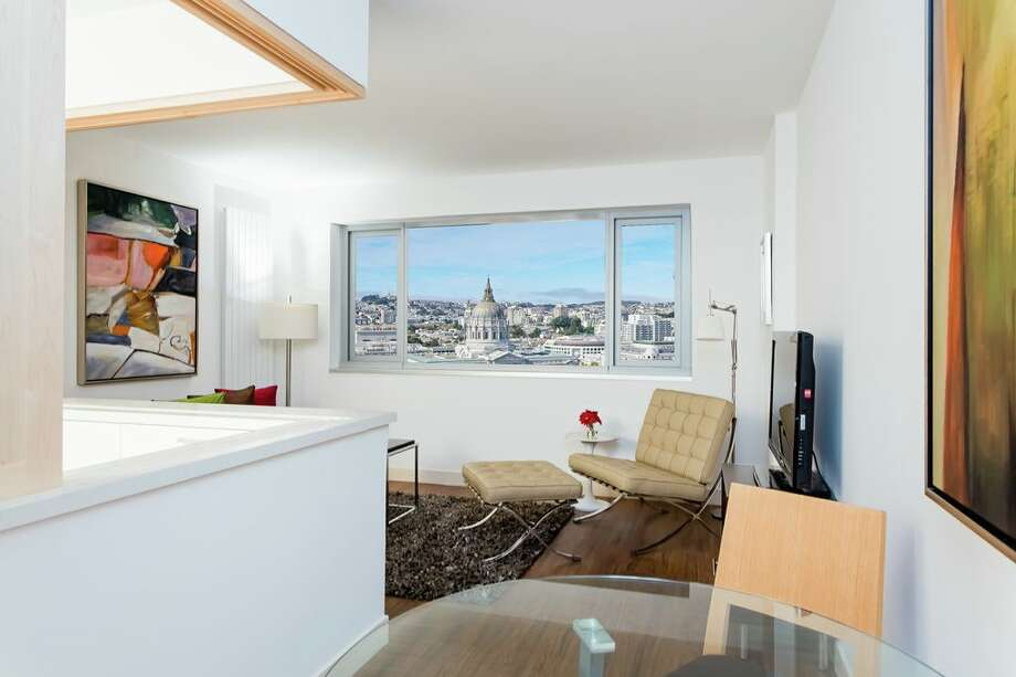 This studio apartment will rent for $2,000 and is one of 418 units in the 22 stories second tower.