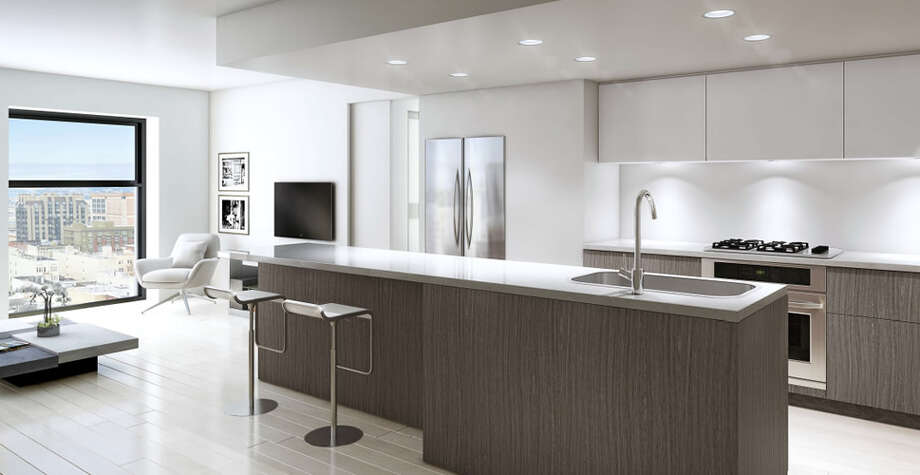 High-end appliances and designer cabinets are promised. Prices will range in the upper $600,000s.