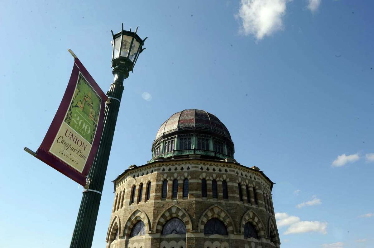 The Nott Memorial at Union College on Thursday April 25, 2013 in Schenectady, N.Y. (Michael P. Farrell/Times Union)