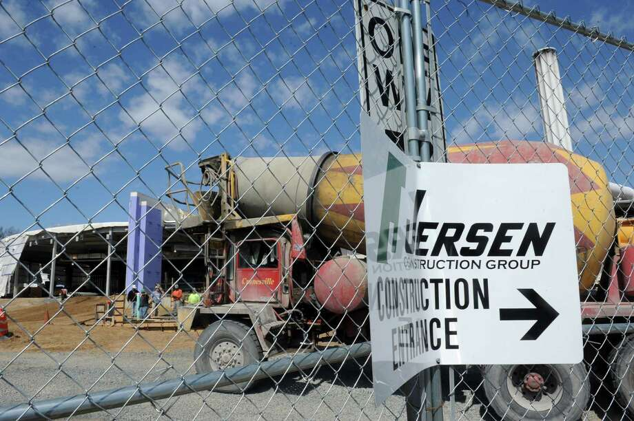 Jersen Construction Group is demolishing and renovating a building on the western side of the campus, a former commissary, into a data center at $24 million at UAlbany on Friday April 26, 2013 in Albany, N.Y. (Michael P. Farrell/Times Union) Photo: Michael P. Farrell