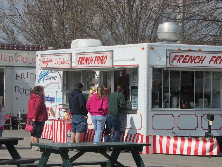 And don't forget about the fast food trailers that grace every event! French fries just in case you needed some munching! Photo by Erik DeFruscio.