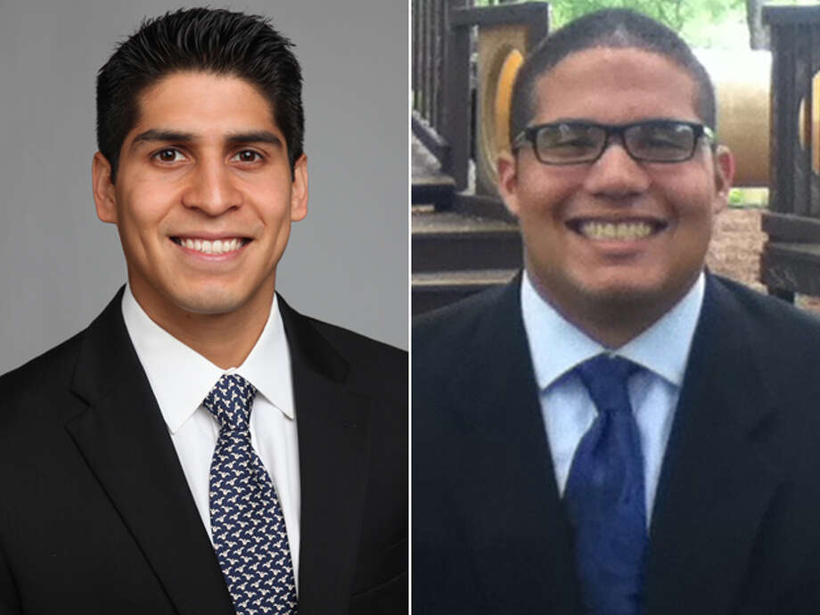 "DISTRICT 4 CANDIDATES, FROM LEFT: Incumbent Rey Saldaña and Joseph ""JoeJo"" Savage. Click here to read more about the District 4 race Photo: San Antonio Express-News And Courtesy Photos"