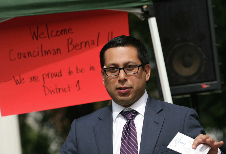 Incumbent Diego Bernal is running unopposed in District 1. Click here to read more about the District 1 race Photo: Cynthia Esparza / San Antonio Express-News / For San Antonio Express-News