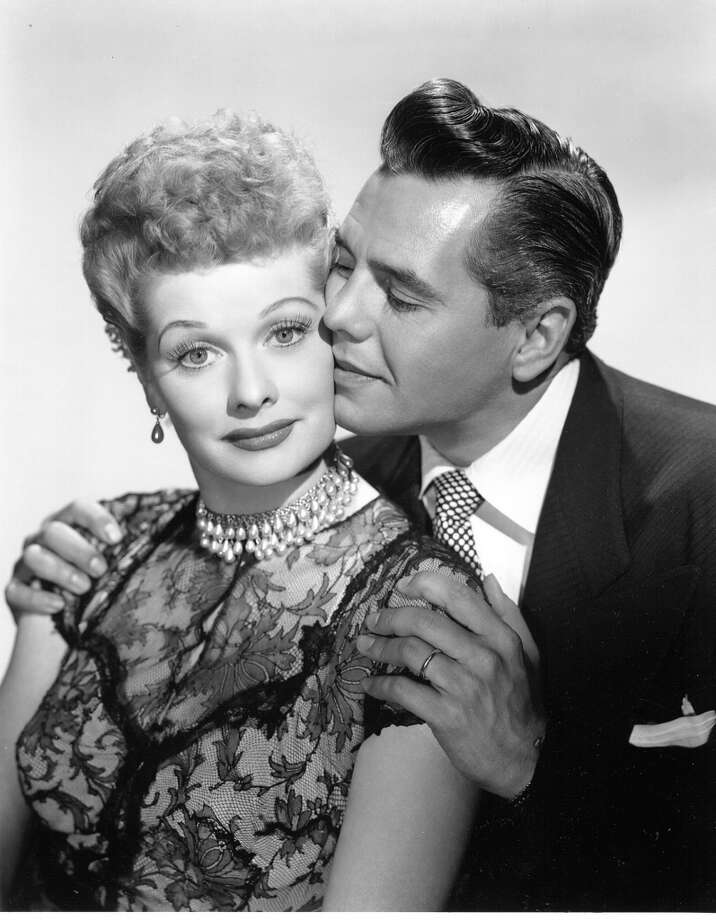 'I Love Lucy':  Lucy was anything but a typical housewife, but her collared dresses and coiffed curls reflected the quintessential feminine fashion of the time.