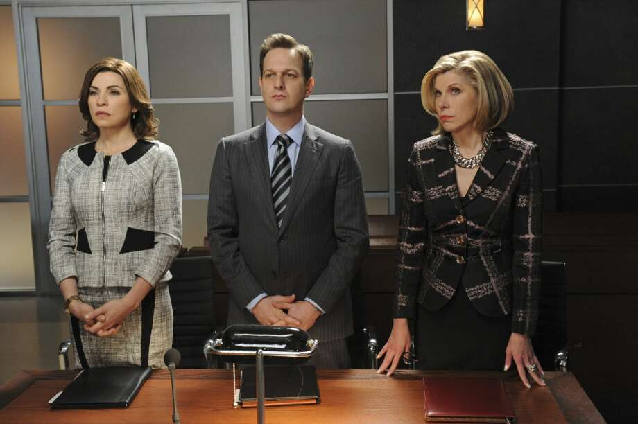 'The Good Wife': Julianna Margulies and Diane (Christine Baranski, right) play high-powered, power-dressing attorneys.