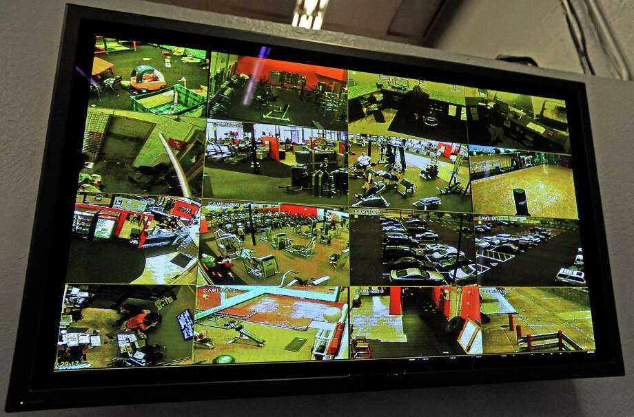 Surveillance camera video footage. Photo taken: Randy Edwards/The Enterprise Photo: Guiseppe Barranco
