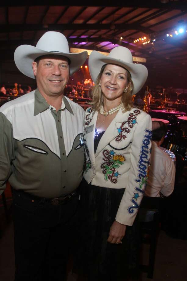 Jim and Nancy Ebanks at the Cattle Barons Ball. Nancy was the 2010 Ball chair.