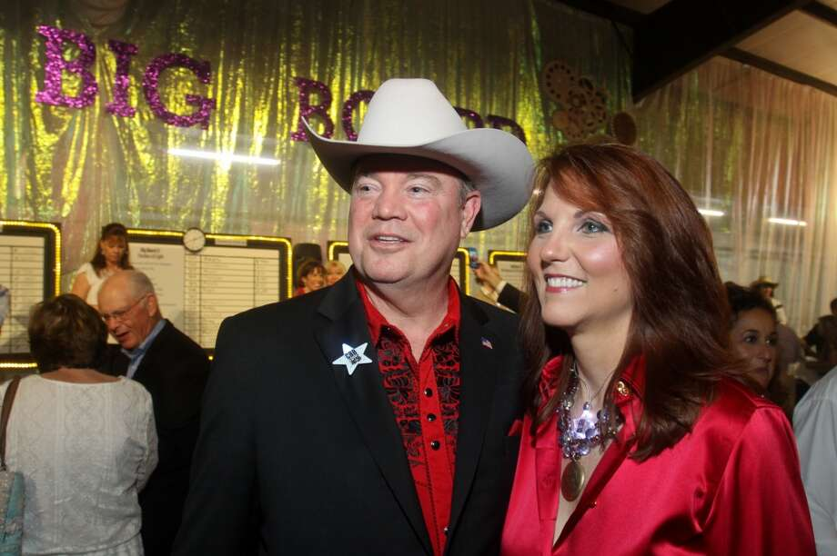 Mike and Lori Jones at the Cattle Barons Ball.