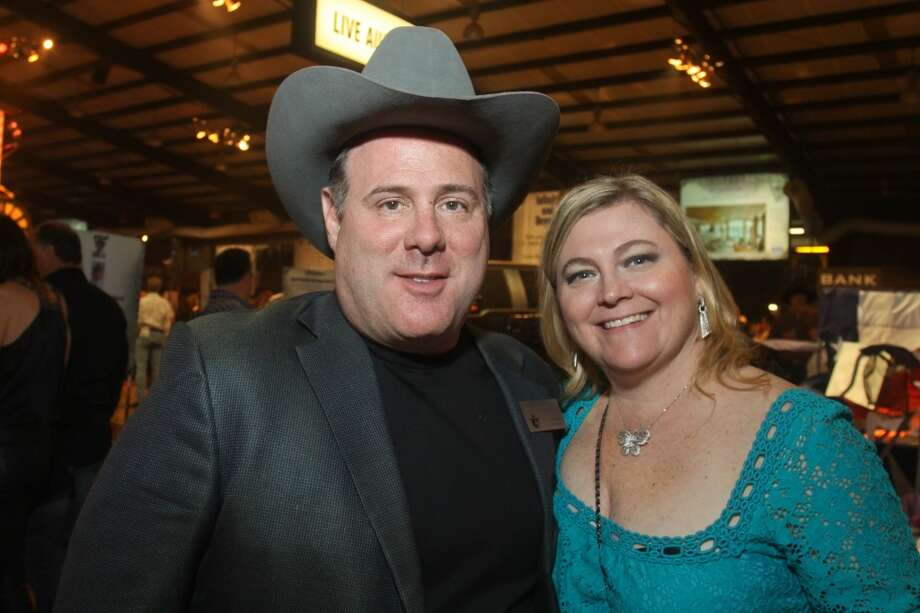 Rex and Maggie Solomon at the Cattle Barons Ball.