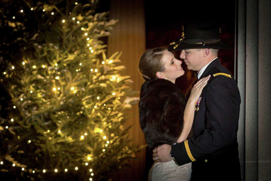 Susan Kelly (Grauel) Carpenter, 22 part-time student, and Patrick Michael Carpenter Jr., 22 U.S. Army, were married December 28, 2012 at St. Mary's Church.