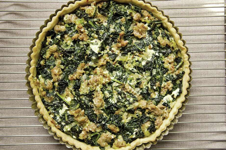 Sausage and Kale Dinner Tart from The Food52 Cookbook, Vol. 2, Seasonal Recipes From Our Kitchen to Yours by Amanda Hesser and Merrill Stubbs. Photo: William Morrow, Contributed Photo / HealthyLife