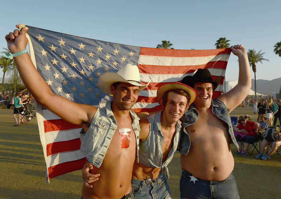The annual California country music festival proves wearing a Stetson doesn't make you an actual cowboy. Photo: Matt Cowan / 2013 Getty Images