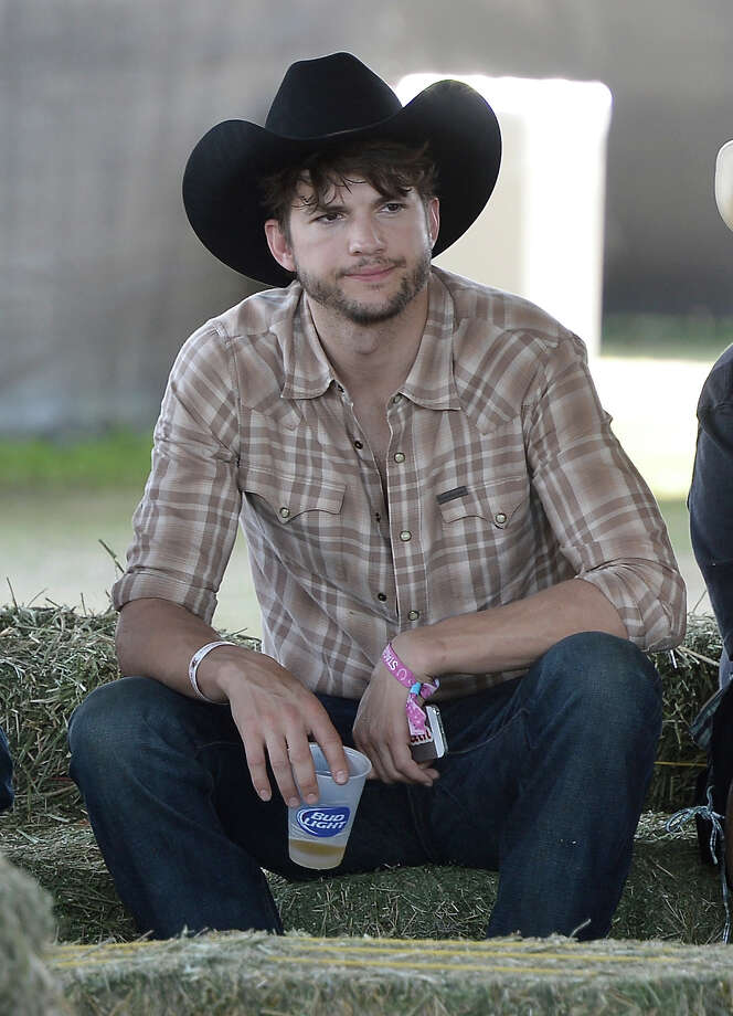 INDIO, CA - APRIL 28: Ashton Kutcher is seen during 2013 Stagecoach: California's Country Music Festival held at The Empire Polo Club on April 28, 2013 in Indio, California. Photo: Frazer Harrison / 2013 Getty Images