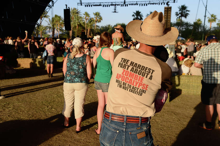 INDIO, CA - APRIL 28:  A general view of atmosphere during 2013 Stagecoach: California's Country Music Festival held at The Empire Polo Club on April 28, 2013 in Indio, California. Photo: Frazer Harrison / 2013 Getty Images