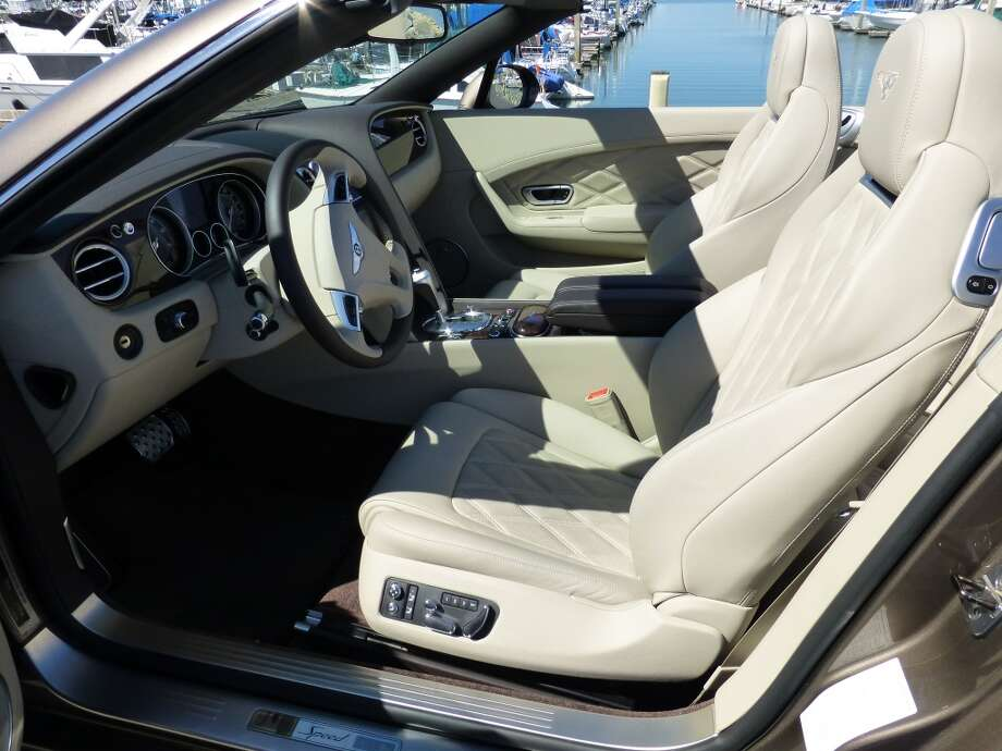 The car is quite comfortable, but you could buy an upscale (if not equally upscale)  convertible for far less and have some cash left over.