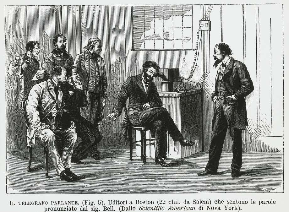 "Watson?On March 10, 1876, the Scottish-Canadian-American inventor Alexander Graham Bell made the first telephone call from his lab in Boston to the next room. ""Mr. Watson, come here. I need to see you,"" he said."