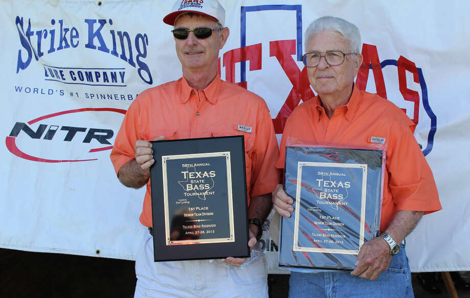Robert and Leroy Page from Conroe were the Senior Team Champions. photo by Paul Hayes