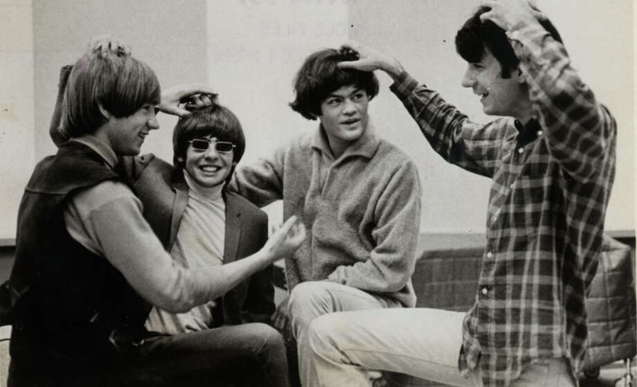 Peter Tork, from left, Davy Jones, Micky Dolenz and Mike Nesmith from earlier days as the Monkees. Photo: The Monkees