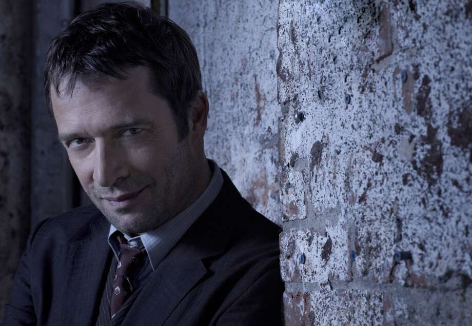 Charismatic Brit James Purefoy plays evil serial killer Joe Carroll.